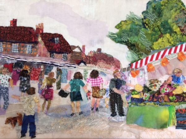 Art in Textiles exhibiting in Oxfordshire Art Weeks