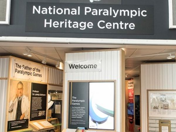 National Paralympic Heritage Centre at Stoke Mandeville