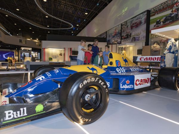 The Silverstone Interactive Museum