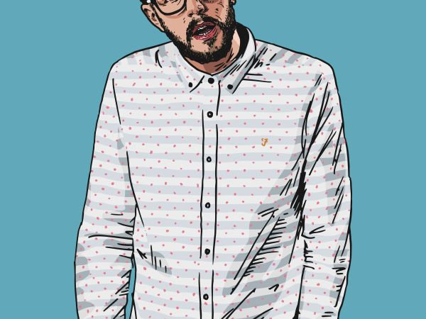 Love Island and CBBC star Iain Stirling at the Limelight Theatre
