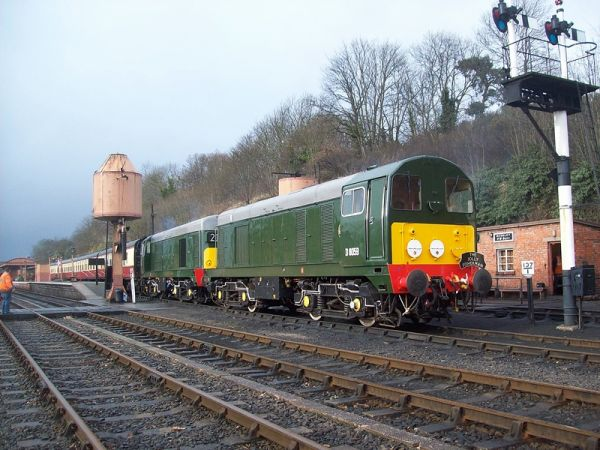 3-Day BIG DIESEL 'THRASH!' at Chinnor & Princes Risborough Railway
