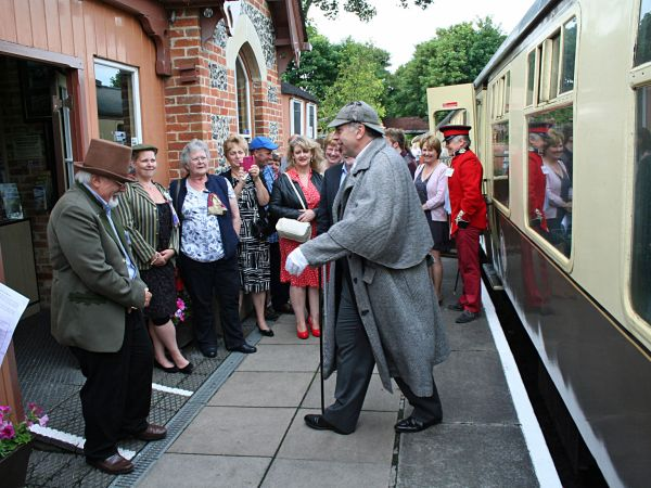 Murder Mystery Dining Train at Chinnor & Princes Risborough Railway