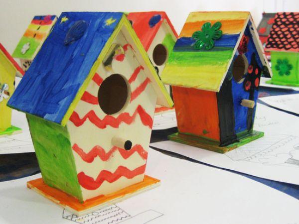 Whifflebird Houses at The Roald Dahl Museum