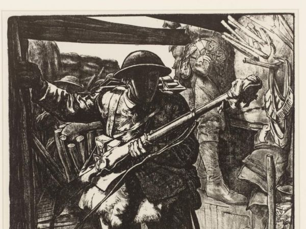To War with Pencil and Paintbrush : British Art and Propaganda in the First World War