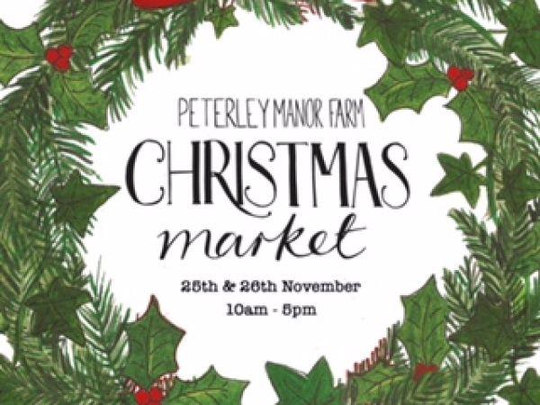 Christmas Market at Peterley Manor Farm