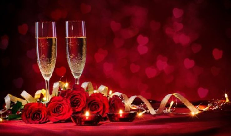 Valentines Dinner at Taplow House Hotel