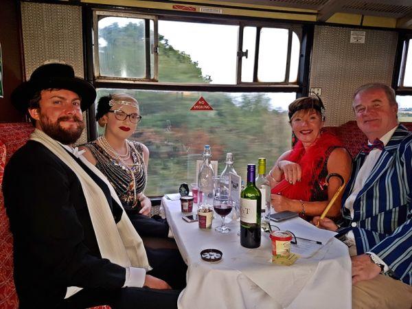 Gin & Cheese Tasting + Steam at Chinnor & Princes Risborough Railway