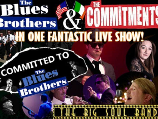 The Ultimate Commitments and Blues Brothers Experience Second Space
