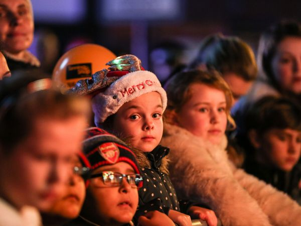 High Wycombe Christmas Lights Switch-On