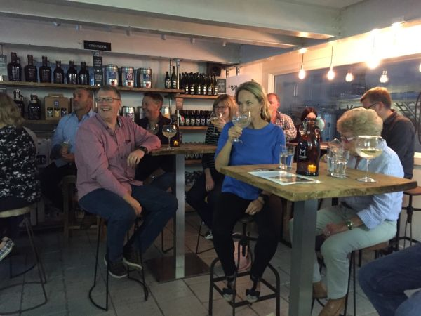 Malt The Brewery's Gin Tasting at Chalgrove Artisan Distillery