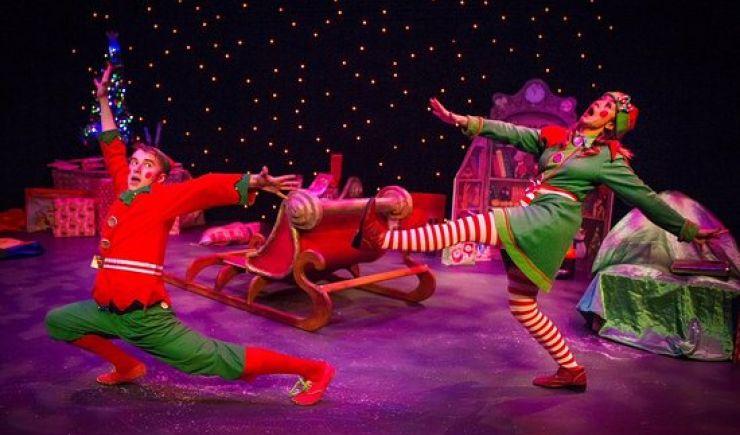Santa's New Sleigh 2019