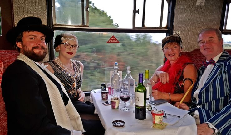 Gin & Cheese Tasting + Steam at Chinnor & Princes Risborough Railway