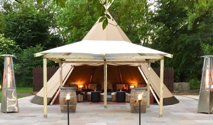 TeePee for Hire at The Royal Oak