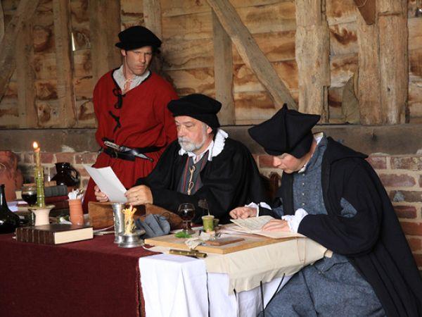 Tudor Courtroom
