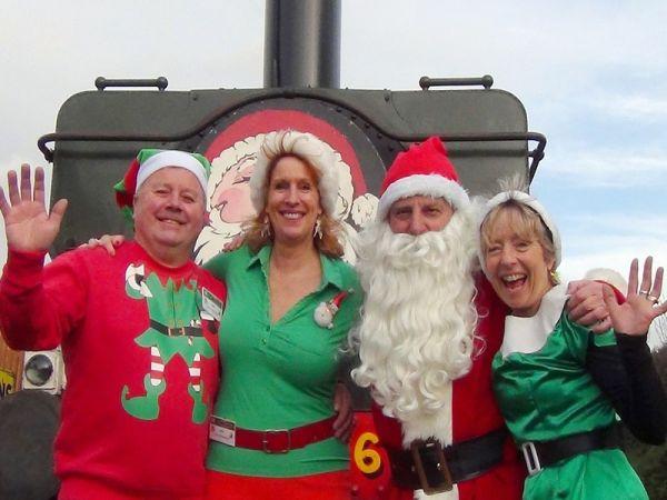 Santa Steam Specials ex Chinnor at Chinnor & Princes Risborough Railway