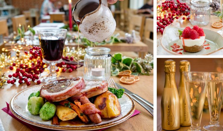 Host your Christmas Lunch Party at The Grange