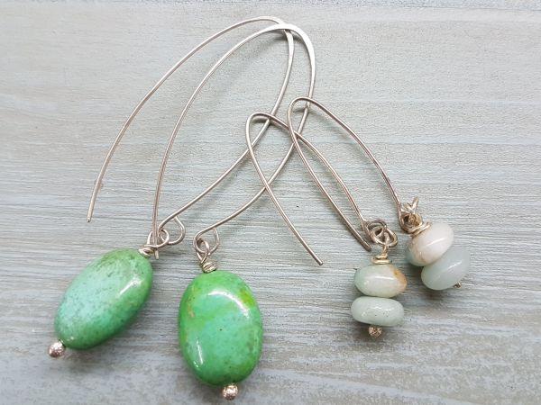 Make a Pair of Semi Precious Bead Earrings - Half Day Workshop - 21st April