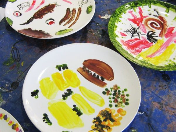 Make a Disgusterous Dinner Plate