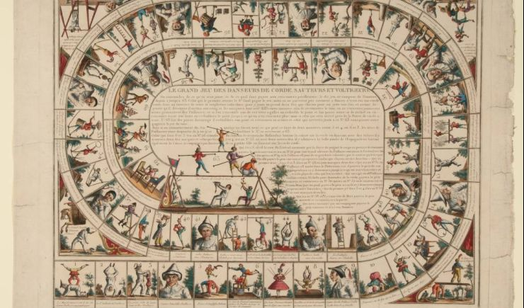 Online talk: Timeless play - Board games of the 18th and 19th century