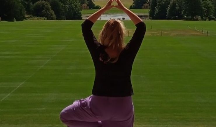 Family Yoga at Stowe House