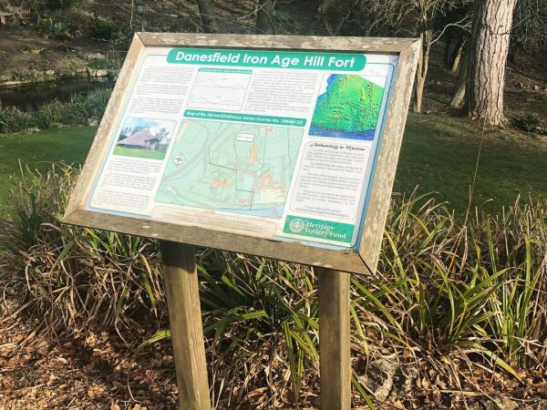 Chilterns Walking Festival: The Danesfield House Gardens and Hillfort Tour