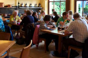 Dining at Waddesdon Manor