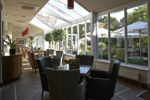 Conservatory Lounge At The Bull Hotel