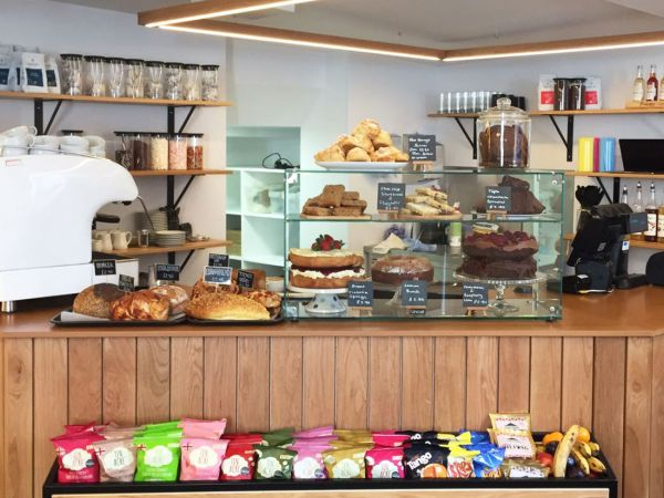 Cafe at the Roald Dahl Museum