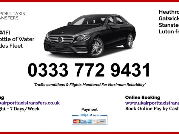 Bucks Airport Taxis Transfers